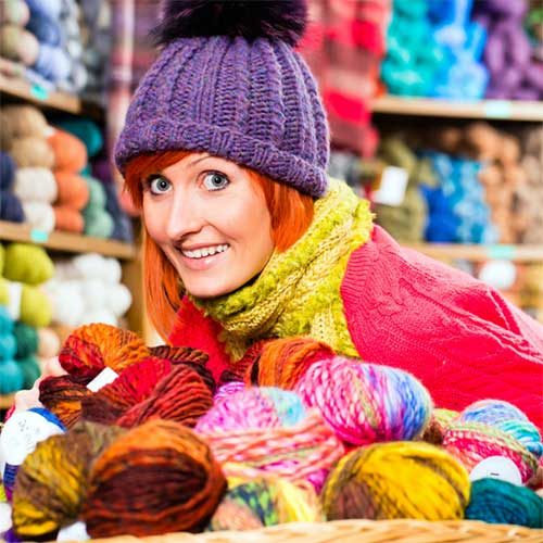 Yarns, Wool & Other Fibres