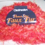 Faux Fur Printed Silky